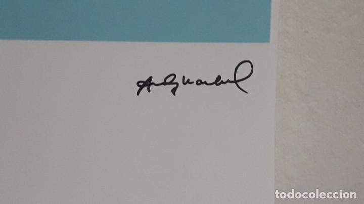 Arte: Litografia de Andy Warhol, Camion,numerado a lapiz,con firma y marca de agua,57x38 cms - Foto 4 - 234442235