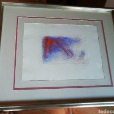 Arte: LITOGRAFÍA DE FRACESC GUITART 87.. ENMARCADO Y NUMERADO. 22/45. VERIFICADA POR D'IVORI .. Lote 234579945