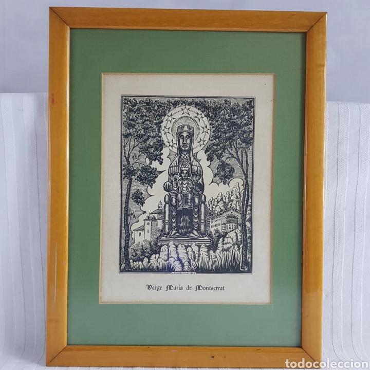 Arte: Virgen de Montserrat por Joan Anglada Villa - Foto 2 - 235476280