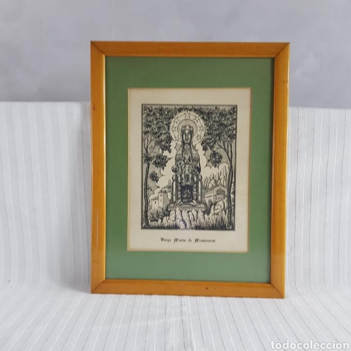 Arte: Virgen de Montserrat por Joan Anglada Villa - Foto 3 - 235476280