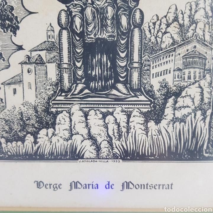 Arte: Virgen de Montserrat por Joan Anglada Villa - Foto 6 - 235476280