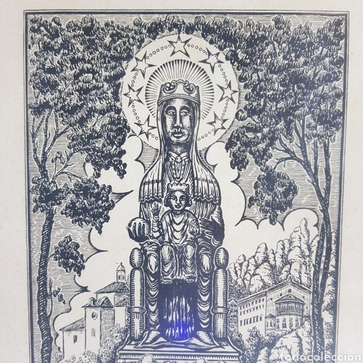 Arte: Virgen de Montserrat por Joan Anglada Villa - Foto 7 - 235476280