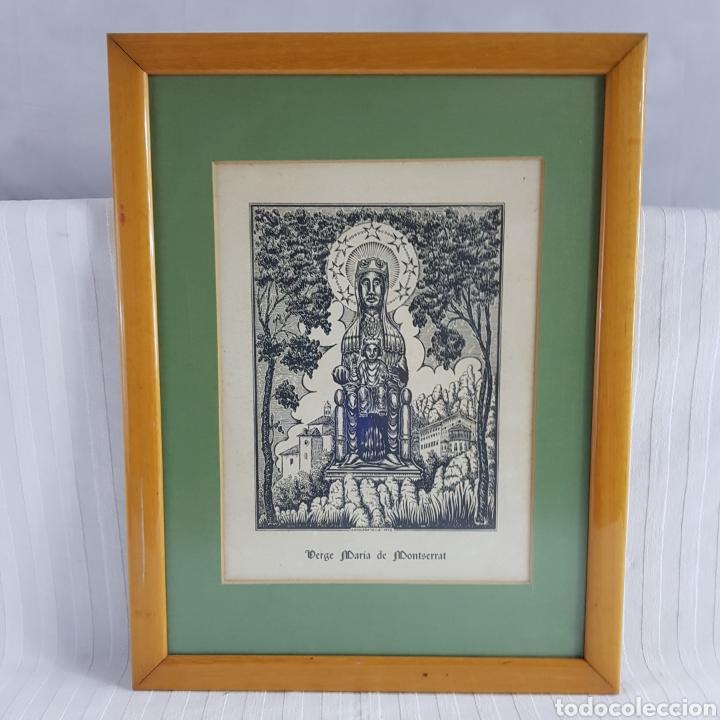 Arte: Virgen de Montserrat por Joan Anglada Villa - Foto 8 - 235476280