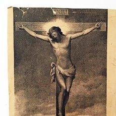 Arte: PEQUEÑA LITOGRAFÍA DEL CRISTO DE LA FÉ, VENERADO EN LA IGLESIA DE SAN LUIS. (C 1860) LITOGRAF DONON. Lote 235528745