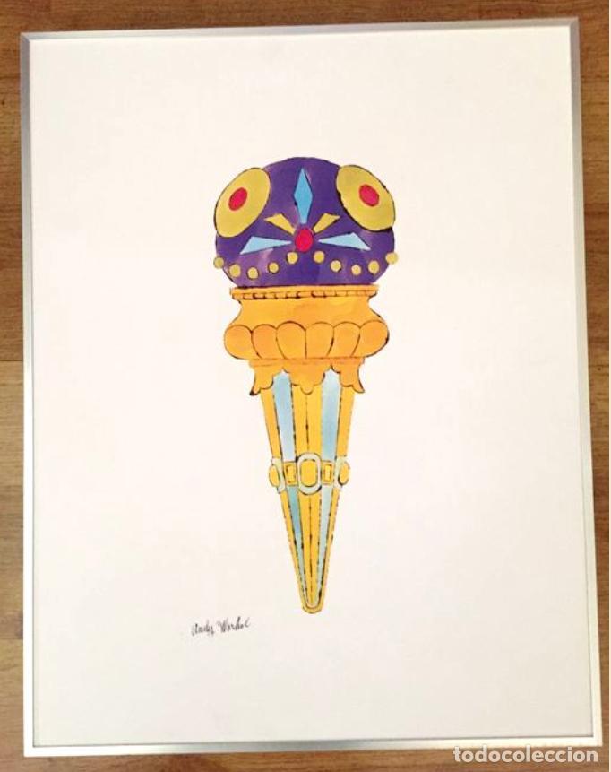 Arte: Andy Warhol Dos litografías enmarcadas Helados - Foto 3 - 236118735