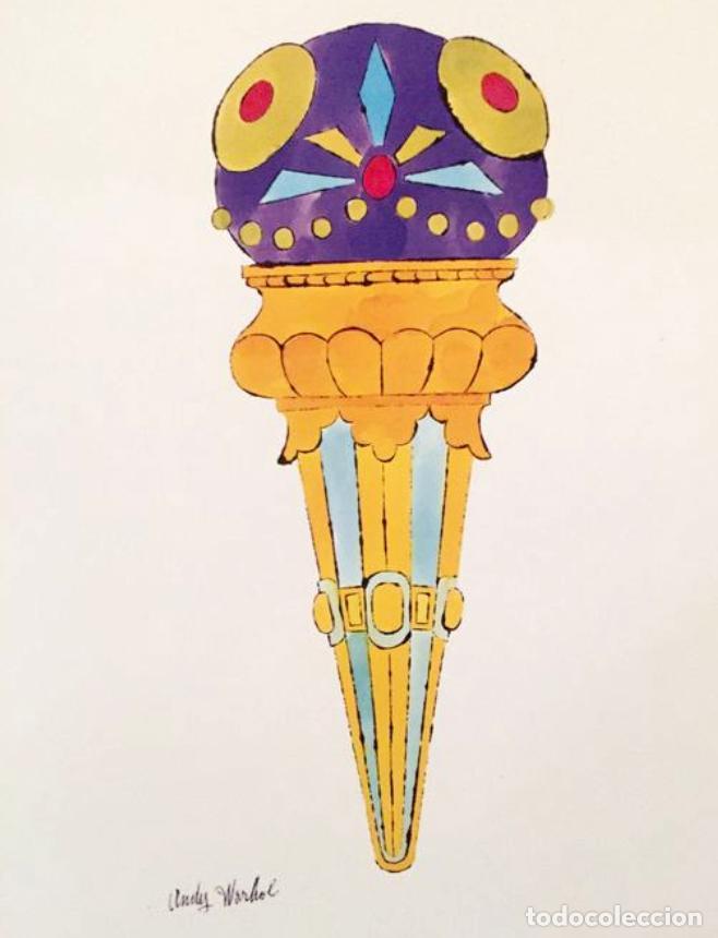Arte: Andy Warhol Dos litografías enmarcadas Helados - Foto 6 - 236118735