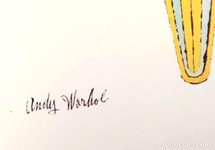 Arte: Andy Warhol Dos litografías enmarcadas Helados - Foto 7 - 236118735
