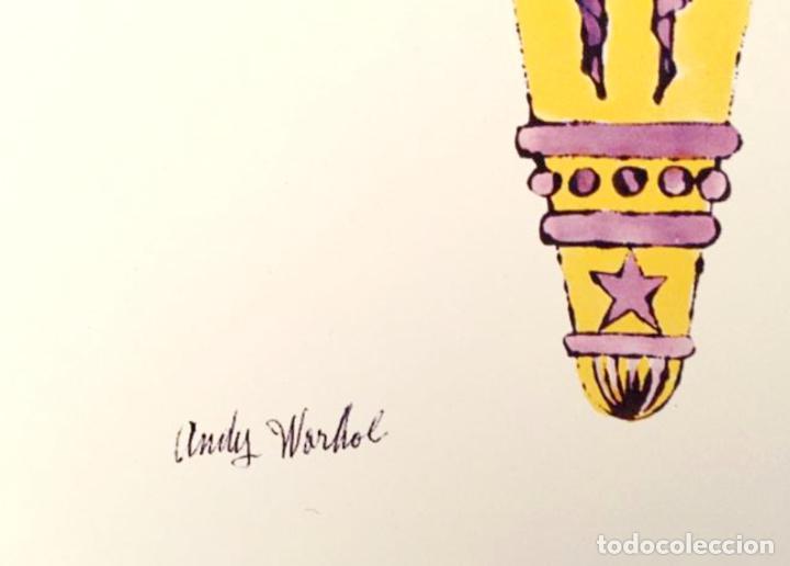 Arte: Andy Warhol Dos litografías enmarcadas Helados - Foto 10 - 236118735