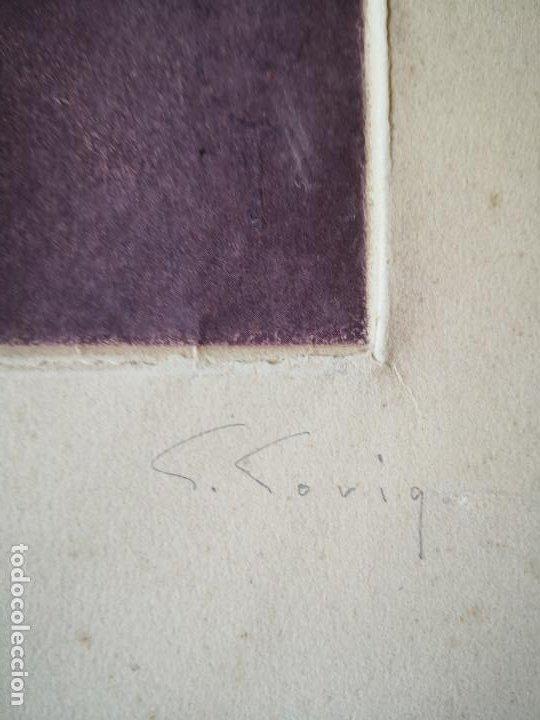 Arte: litografia Salvador Soria P.E coleccion litografias arte - Foto 4 - 230934590