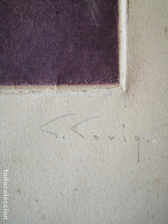 Arte: litografia Salvador Soria P.E coleccion litografias arte - Foto 5 - 230934590