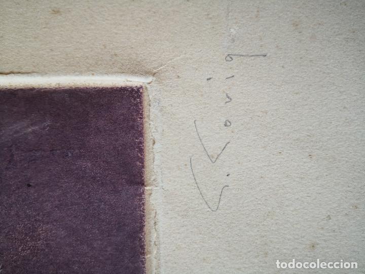 Arte: litografia Salvador Soria P.E coleccion litografias arte - Foto 6 - 230934590
