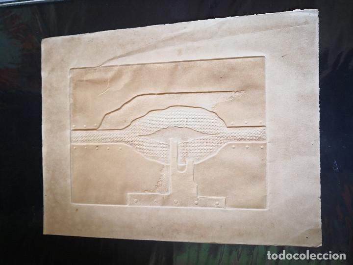 Arte: litografia Salvador Soria P.E coleccion litografias arte - Foto 12 - 230934590