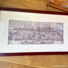 Arte: ANTIGUO GRABADO VALENCIA FIESTAS III CENTENARIO CANONIZACION SAN VICENTE FERRER , AÑO 1755. Lote 237571530