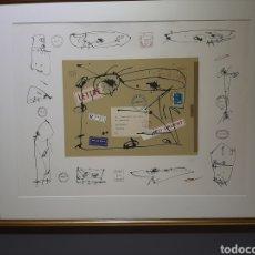 Arte: ANTONIO SAURA LITOGRAFIA FIRMADA Y NUMERADA A MANO POR EL ARTISTA. Lote 237956165