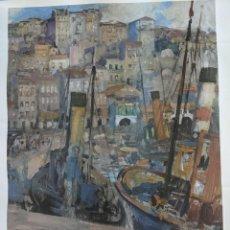 Arte: EL BERBES 1931 ALVAREZ DE SOTOMAYOR - LAMINA EDITADA EN 2009 POR LA DEPUTACION DE PONTEVEDRA. Lote 238587545