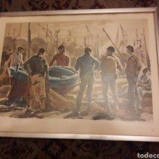 Arte: LITOGRAFÍA DE GUILLEN FRESQUET, FIRMADO Y NUMERADO A LÁPIZ, SELLO. Lote 238660570