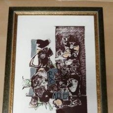 Arte: PRUEBA DE ARTISTA DEL PINTOR JOSE MARIA PERALTA Y MARTINEZ DE LECEA. Lote 240028050