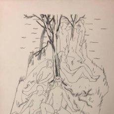 Arte: JOSEP DE TOGORES - LITOGRAFÍA -. Lote 240598690