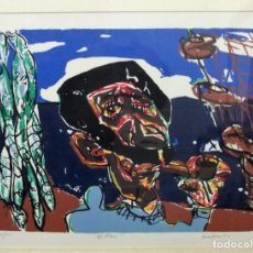"Arte: ""EL MAR"".- M.A. LOMBARDIA. Lote 241319845"