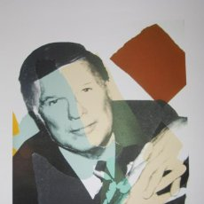 Arte: IMPRESIÓN LITOGRÁFICA ANDY WARHOL (AFTER). Lote 241655390