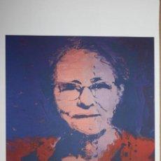 Arte: IMPRESIÓN LITOGRÁFICA ANDY WARHOL (AFTER). Lote 241656060