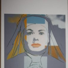 Arte: IMPRESIÓN LITOGRÁFICA ANDY WARHOL (AFTER). Lote 241656770