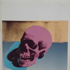 Arte: LITOGRAFIA DE ANDY WARHOL, CALAVERA,NUMERADO A LAPIZ,CON FIRMA Y MARCA DE AGUA,57X38 CMS. Lote 242042560