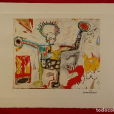 Art: JEAN-MICHEL BASQUIAT, CON SELLO DE AUTENTIFICACIÓN EN RELIEVE. Lote 242822700