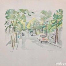 Arte: JOSEP SERRA LLIMONA - LITOGRAFÍA -. Lote 242840730