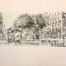 Arte: MANEL MAYORAL - LITOGRAFÍA -. Lote 242841405