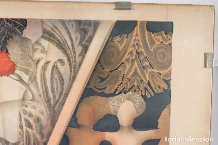 Arte: Litografía Torso Desnudos femeninos y paisaje firma ilegible a lápiz - Foto 2 - 243674915