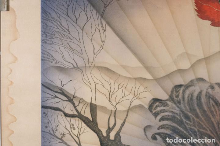Arte: Litografía Torso Desnudos femeninos y paisaje firma ilegible a lápiz - Foto 5 - 243674915