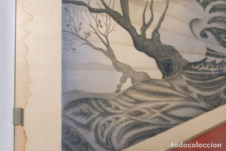 Arte: Litografía Torso Desnudos femeninos y paisaje firma ilegible a lápiz - Foto 9 - 243674915
