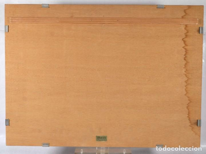 Arte: Litografía Torso Desnudos femeninos y paisaje firma ilegible a lápiz - Foto 12 - 243674915
