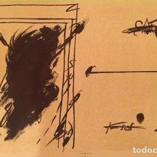 """Arte: LITOGRAFIA ANTONI TAPIES """"LA LIGNE D'HORIZON"""" 1973. Lote 243955910"""