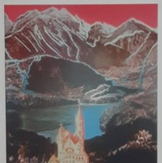 Arte: LITOGRAFIA DE ANDY WARHOL, NEUSCHWANSTEIN 372,NUMERADO A LAPIZ,CON FIRMA Y MARCA DE AGUA,57X38 CMS. Lote 243962045
