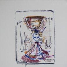 "Arte: LITOGRAFIA DE SUSANA SOLANO ""SEA BITCH"" 2008 FIRMADA Y NUMERADA. Lote 244171960"