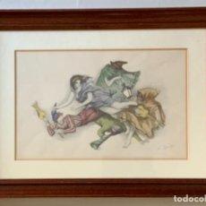 Arte: ALFREDO OPISSO (LITOGRAFÍA). Lote 244197120