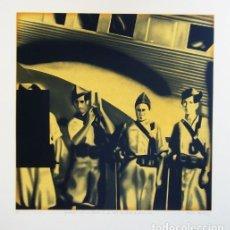 Arte: LITOGRAFIA DE EQUIPO REALIDAD AÑO 1974 FIRMADA Y NUMERADA H.C.. Lote 244437740