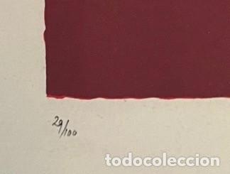 Arte: LITOGRAFIA DE EDUARDO ARROYO FIRMADA Y NUMERADA 29/100 - Foto 3 - 244440440