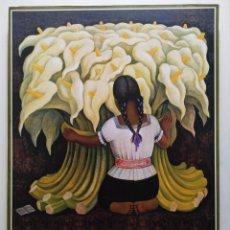 Arte: DIEGO RIVERA _ `NIÑA CON ALCATRACES. Lote 244953085