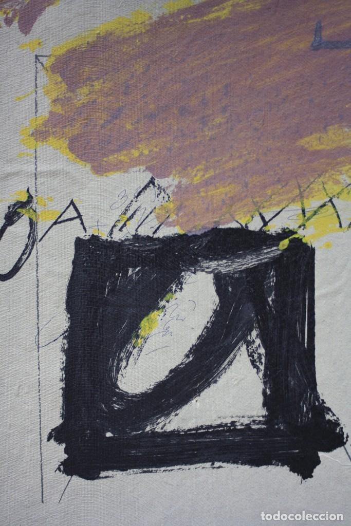 Arte: Carpeta Oda a Xirinacs, 1976, poema de Joan Brossa firmado y litografia original de Antoni Tàpies. - Foto 4 - 245181285