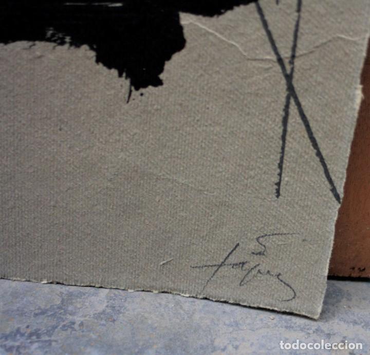 Arte: Carpeta Oda a Xirinacs, 1976, poema de Joan Brossa firmado y litografia original de Antoni Tàpies. - Foto 6 - 245181285