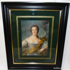 Arte: CUADRO CON MADAME VICTOIRE DE FRANCE (1747-1748) MUSEE DE VERSAILLES JEAN MARC NATTIER 1685-1766. Lote 245633595