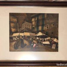 Arte: ALEGRE CREMADES FIRMADO Y NUMERADO. Lote 245740115