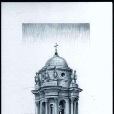 Arte: GIROEXLIBRIS.- INTERESANTE LITOGRAFÍA DE M. ALFARO DE TORRES MIRADORES DE CÁDIZ. Lote 246242960