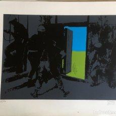 Arte: ARTE GRÁFICO, LITOGRAFÍA DE HORACIO SAPERE Y VIRGILIO PAEZ CERVI, 1976, MALLORCA.TIRADA PEQUEÑA. Lote 246856250