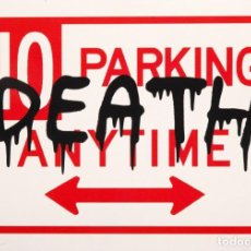Arte: DEATH NYC (1979) - STREET ART - IMPRESIÓN FIRMADA Y CERTIFICADA. Lote 247519985
