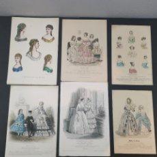 Arte: LITOGRAFÍAS DE MODA PARISIANA S. XIX. MODES DE PARÍS, LE BON TON, LE MONITEUR DE LA MODE.. Lote 248036315
