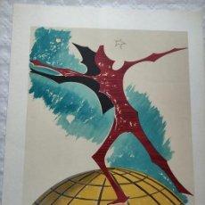 """Arte: LITOGRAFIA MAN RAY """"REBUS"""". Lote 248261860"""